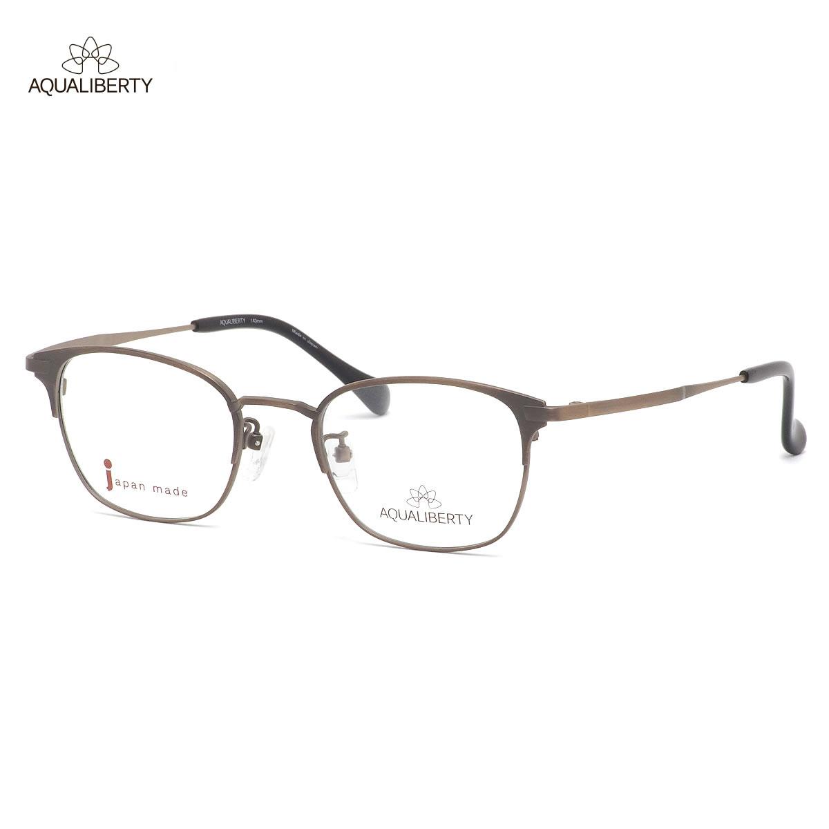 眼鏡・サングラス, 眼鏡  AQ22524 AG 48 AQUALIBERTY MADE IN JAPAN