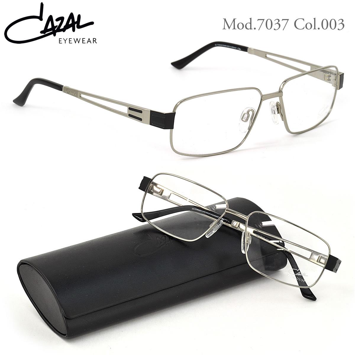 【CAZAL】(カザール) メガネ 7037 003 55サイズ CAZAL 伊達メガネレンズ無料 メンズ レディース:メガネ・サングラスのThat's