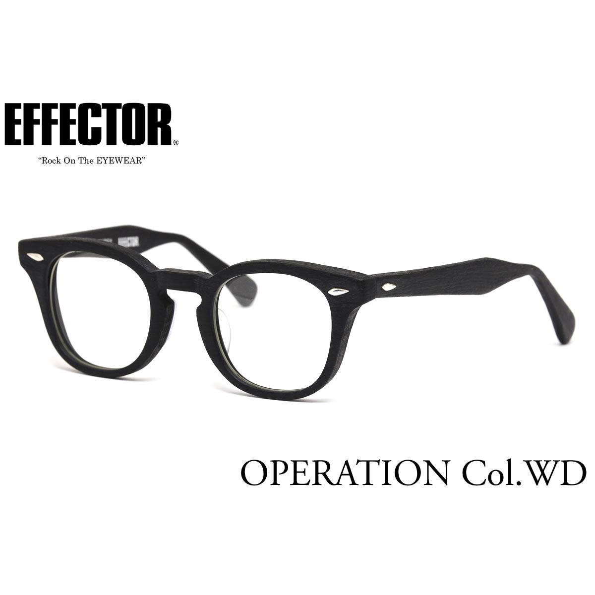 眼鏡・サングラス, 眼鏡 EFFECTOR OPERATION WD 47 The REAL McCOYS EFFECTOR UV