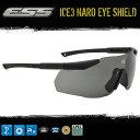 【ESS ICE3 NARO EYESHIELD】アイス3 ナロー アイシールド 防弾 サングラス サバイバルゲーム(...