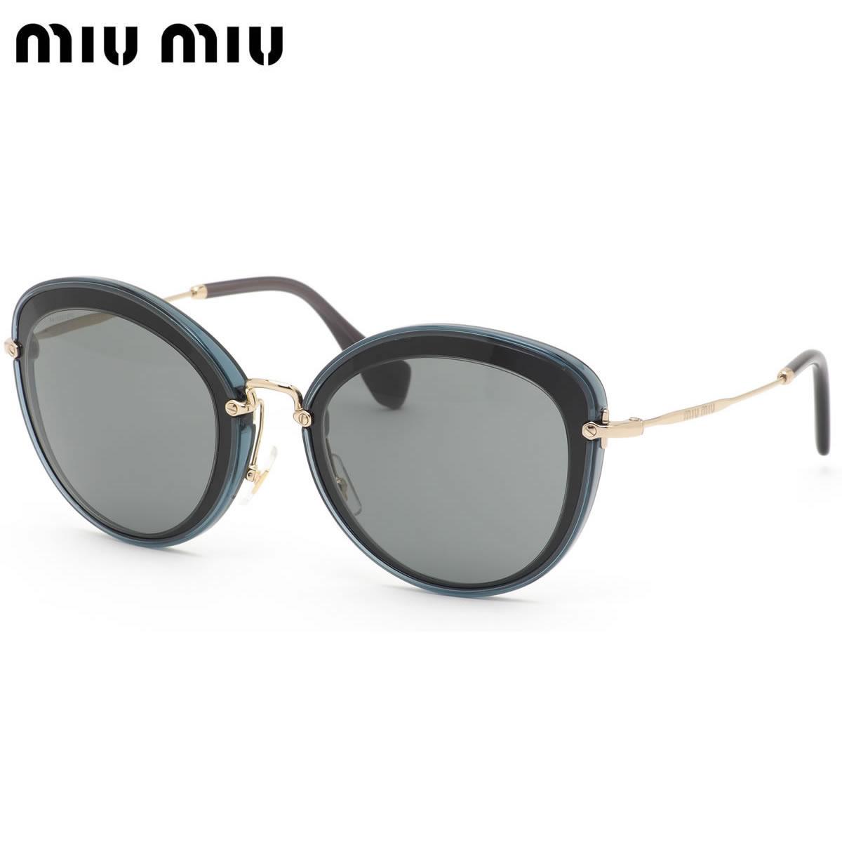 【ミュウミュウ】(miumiu) ノワール サングラス MU50RS 1AB9K1 54サイズフォックスmiumiu ミュウミュウ Noir レディース:メガネ・サングラスのThat's