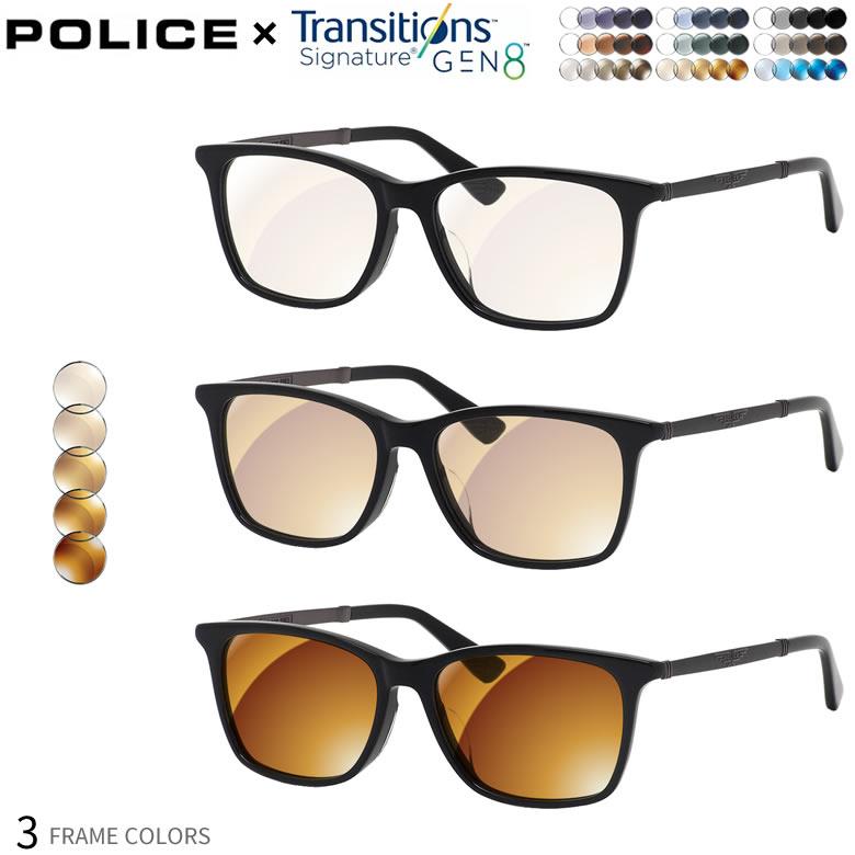 眼鏡・サングラス, サングラス  VPLB26J 54 UV GEN8 POLICE UV400 2WAY OS