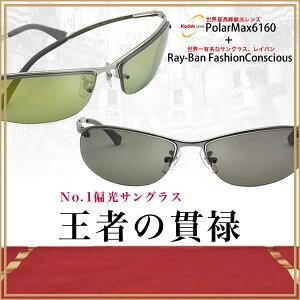 高屈折偏光レンズ、KODAK PolarMax6160(コダック ポラマックス6160)と大人気!Ray-Ban RayBan(レイバン)の偏光サングラススペシャルセット!!【 レビューで送料無料 & 1万円GETのチャンス!! 】