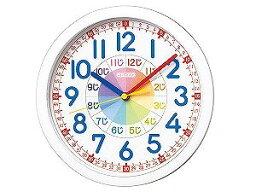 【SEIKO CLOCK】セイコー SEIKO 知育時計 掛け時計 KX617W