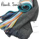 PAUL SMITH ポールスミス ドイツ製 メンズマフラー...