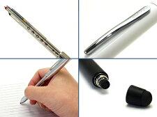 CROSSクロステックスリープラスボールペン黒・赤+シャープペンシル+スタイラスオールサテンブラックAT0090plus-7