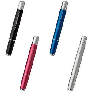 【ワンプッシュ鉛筆ホルダー 消しゴム付 RH010】ノックするだけで鉛筆の抜き差しが可能な鉛筆...