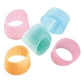 【メクリッコ・カラー リング型指サック Mサイズ KM-302C】カラー指サック※20個までDM便可能[PLUS]