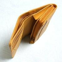【風水パワーで金運UP!!】風水開運黄色財布(牛本革使用、化粧箱入)