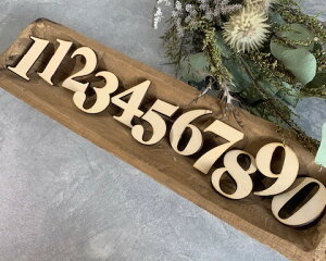 ナンバー バナー レターバナー 祝100日 フォトアイテム バースデーフォト 月齢フォト お食い初め 木製 木製オブジェ 出産 ニューボーンフォト【ナンバーレターバナー】