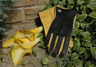※送料無料※英国高級手袋ジャイコ(JAYCO)ゴールドリーフ ガーデングローブ お庭仕事に是非...