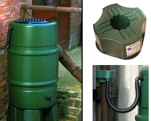 【雨水利用・英国製 雨水タンク】harcostar ハーコスター製雨水タンク227L お手軽 …