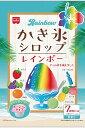 共立食品 レインボーかき氷シロップ 21g×7 まとめ買い(×6)| 6/12(土)から順次発送予定。