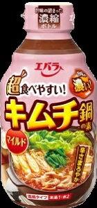 エバラ キムチ鍋の素マイルド 300ml まとめ買い(×12)