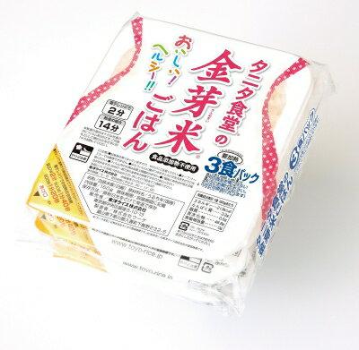 タニタ食堂 金芽米ごはん 160g×3 まとめ買い(×8)|4560261661953:農・水加工品(c1-tc)