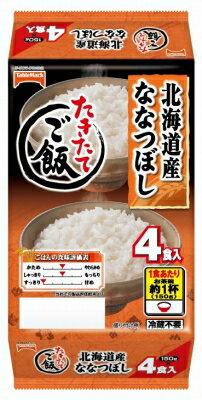 テーブルマーク たきたてご飯北海道産ななつぼし4食 600g まとめ買い(×8)|4901520136339:農・水加工品(c1-tc)