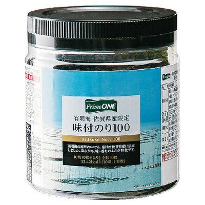 Prime ONE 有明海佐賀県産限定味付のり 10切100枚 まとめ買い(×12)|4905060010982:農・水加工品(c1-tc)