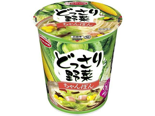 エースコックどっさり野菜ちゃんぽん61gまとめ買い(×12)