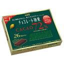 明治 チョコレート効果カカオ72% 26枚 まとめ買い(×6)|4902777021294