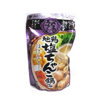 ミツカン 〆まで美味しい 地鶏塩ちゃんこ鍋つゆ 750g ケース 12個入り|4902106648437-12:食品(出c1-tc)