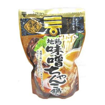 ミツカン 〆まで美味しい 地鶏味噌ちゃんこ鍋つゆ 750g ケース 12個入り|4902106651338-12:食品(出c1-tc)