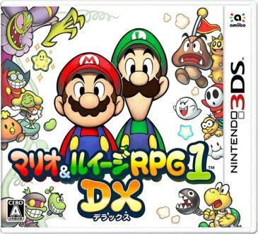 【エントリーでポイント5倍! 〜7/3 23:59まで】3DS ソフト マリオ&ルイージRPG1 DX (新品)(ネコポス限定送料無料) |4902370537833|