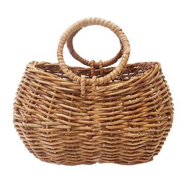 Arorog Basket ラウンドハンドル バスケット バッグ W31cm アラログ かごバッグ 【あす楽対応】