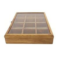 WOODアクセサリーケース≪Lサイズ≫木製ジュエリーボックスアンティークW37.5アクセサリーボックス【あす楽対応】