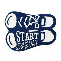Objectモチーフフロアマット(Sneakers)66.5cm×47.5cm玄関マットラグマット【あす楽対応】
