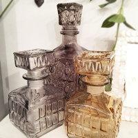 VINTAGEBOTTLEガラスボトル≪Cタイプ≫アンティーク調ガラス瓶インテリア小物フラワーベース小物花瓶【あす楽対応】