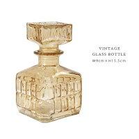 VINTAGEBOTTLEガラスボトル≪Bタイプ≫アンティーク調ガラス瓶インテリア小物フラワーベース小物花瓶【あす楽対応】