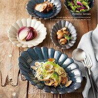 PoterieボウルMサイズ≪ベージュ/ネイビー/ブラック≫日本製プレート小皿テーブルウェア【あす楽対応】