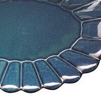 PoterieオーバルプレートLサイズ≪ベージュ/ネイビー/ブラック≫日本製中皿食器テーブルウェア【あす楽対応】