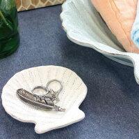 OCEANDECOシェルプレート≪Lサイズ≫お皿食器貝殻マリンモチーフトレイ大皿スターフィッシュ【あす楽対応】