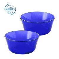 DURALEXデュラレックスサファイアボウルS(10.5cm)【2枚セット】ガラス製耐熱食器お皿プレート洋食器小皿中皿【あす楽対応】