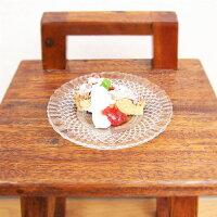 Wheatonバロッコシリアルボウル(17cm)【2枚セット】ガラス製食器お皿プレート洋食器ブラジル製【あす楽対応】