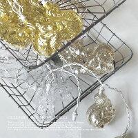 CREEPERLAMPクリーパーランプシャイン≪スクワール≫(ゴールド/シルバー)ガラス照明2m【あす楽対応】【クリスマス雑貨】