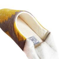 MAISONBLANCHEバブーシュ≪アプリコットピンク≫レディースフリーサイズ室内履きスリッパ【あす楽対応】