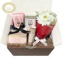 【送料無料】MOR (モア) ギフトセット 4点SET 『LITTLE LUXURIES コフレセット』 フラワーブーケ GIFT BOX & カード付き 【誕生日】【プレゼント】【女性】【ランキング受賞】【あす楽対応】【母の日】 - the Gift by fp