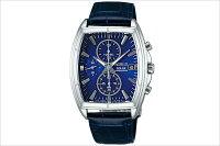 SEIKOセイコーWIREDソーラークロノグラフ腕時計AGAD056メンズウォッチM
