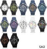 Q&Q カラフルウォッチ メンズ&レディース 腕時計 防水