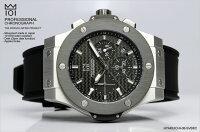 HYAKUICHIクロノグラフ10気圧防水メンズ腕時計10気圧防水5カラー男性MENS