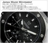 HYAKUICHIクロノグラフ10気圧防水メンズ腕時計10気圧防水5カラー男性MEN