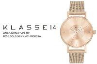 KLASSE14クラスフォーティーン腕時計レディース36mmメタルメッシュベルトVO