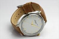 Andrew&coアンドリューアンドコースイス製腕時計メンズレザーベルト革シンプルブ