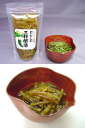 わさびの茎三杯酢漬 (スタンドパック)
