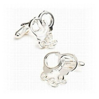 Handcuff-Cufflinks---One-サイズ