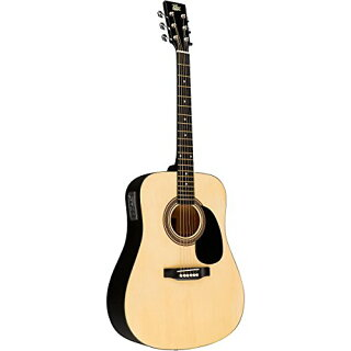 Rogue-RA-090-Dreadnought-Acoustic-Electric-Guitar-ナチュラル