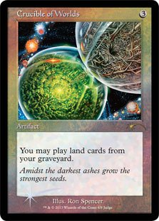 おもちゃ, その他  Magic: the Gathering - Crucible of Worlds - Judge Promos - Foil ()