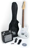 SX RST 3/4 WT ショート Scale ホワイト Guitar Package with Amp, Carry Bag and Instructional DVD (海外取寄せ品)